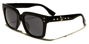 Spike Side Skull Sunglasses