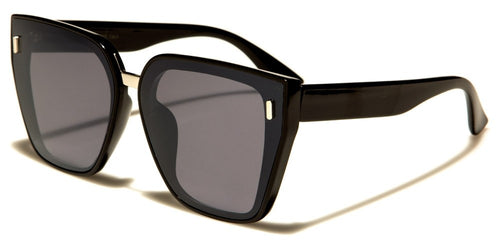 Square Top Cat Eye Sunglasses