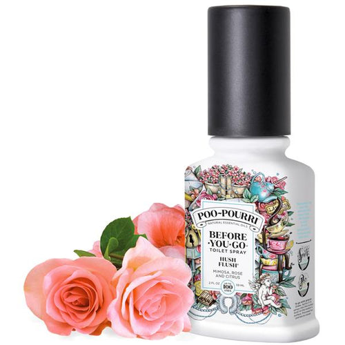 Poo-Pourri Hush Flush 2oz