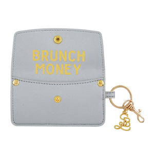SB Credit Card Pouch Brunch Money Silver