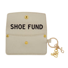 Load image into Gallery viewer, SB Credit Card Pouch Shoe Fund Champagne