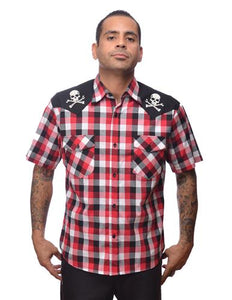 Steady Clothing Men's Chaos Western Red