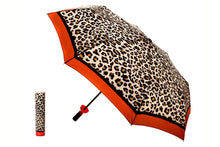 Load image into Gallery viewer, VI Wine Bottle Umbrella Leopard Red