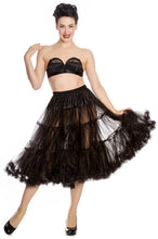 Load image into Gallery viewer, Hell Bunny Long Petticoat Black