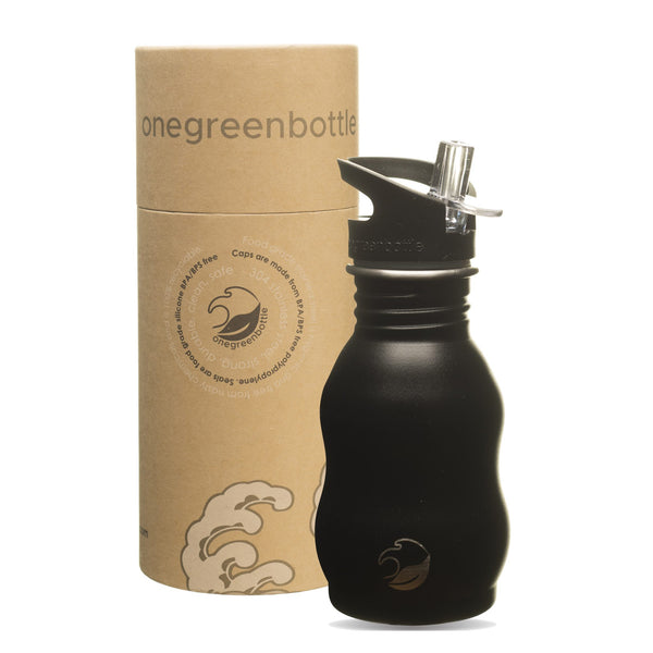 One Green Bottle, 350ml, Powder Black Bottle