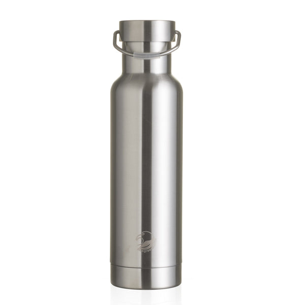 One Green Bottle, 600 ml, Thermal Vacuum Bottle, Steel