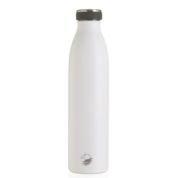 One Green Bottle, 750ml, Sanctuary White Thermal Bottle