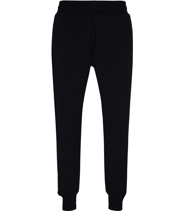 Pullover, Ole Merino Sweatpants, Black