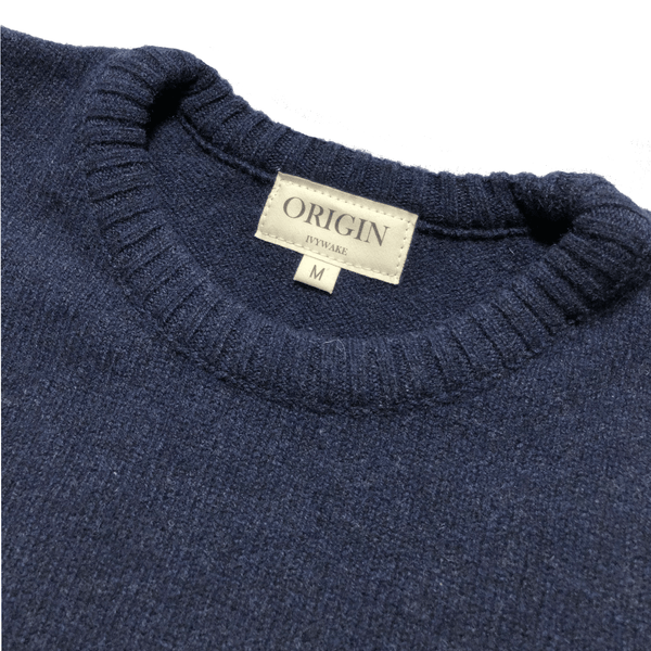 Ivywake, Lambswool Knit, Navy