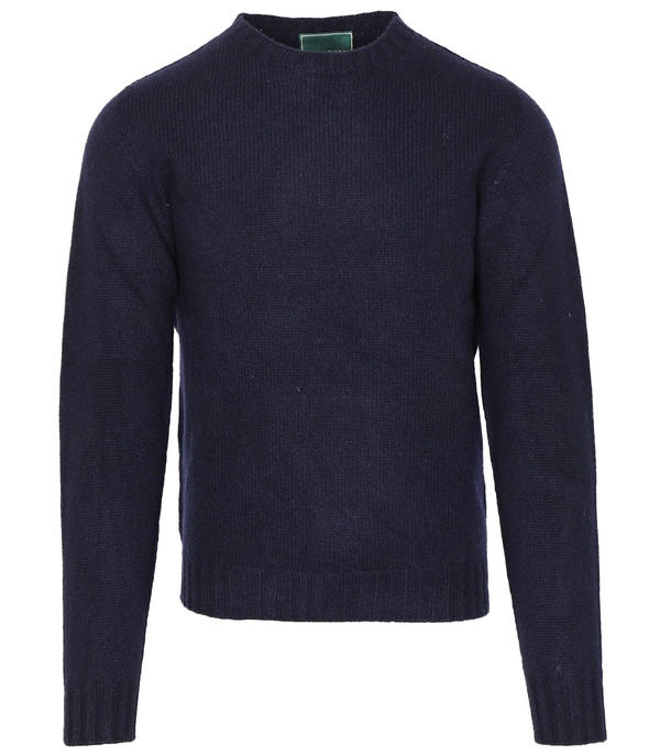 Pullover, Lambswool Knit, Navy