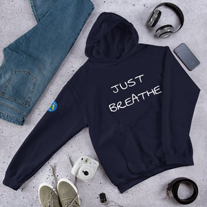 Just Breathe Hooded Sweatshirt