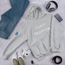 Load image into Gallery viewer, Just Breathe Hooded Sweatshirt