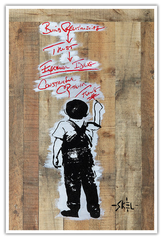 joe maddon banksy art jason skeldon
