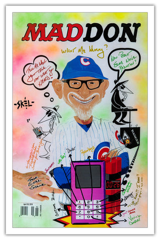 joe maddon mad tv art