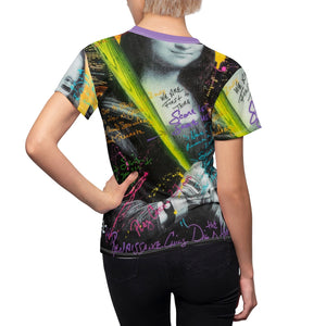 Women's Maddon Art Mona Lisa tee