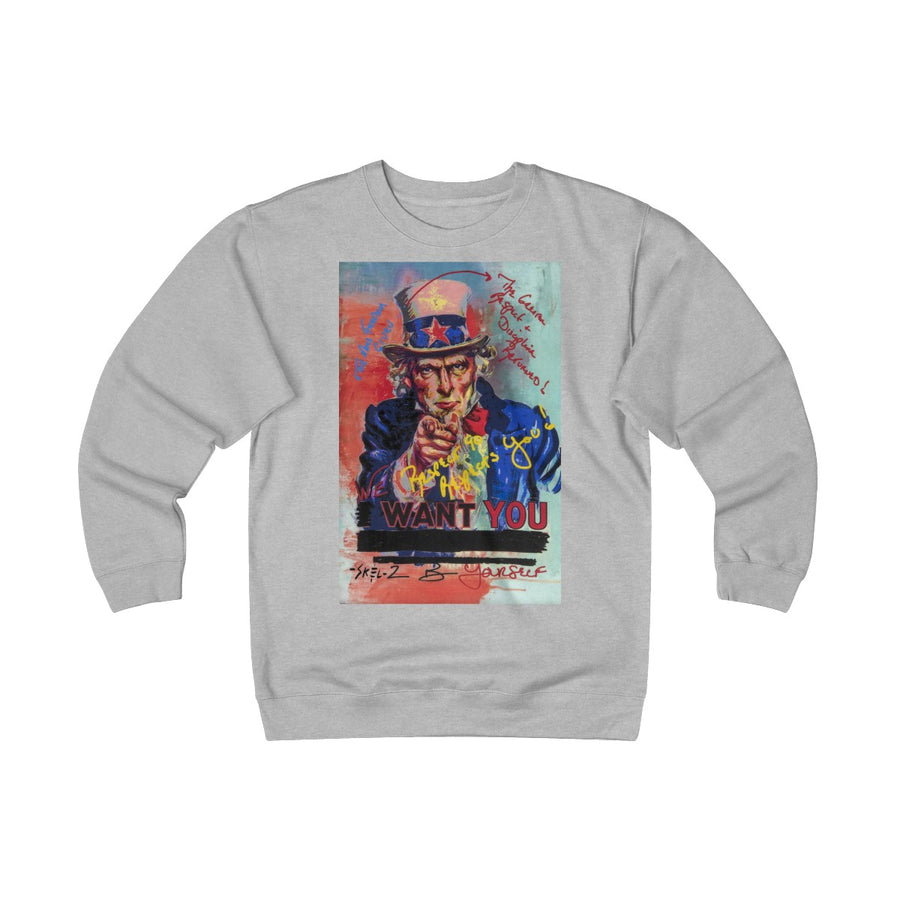 Uncle Sam - Unisex Heavyweight Fleece Crew