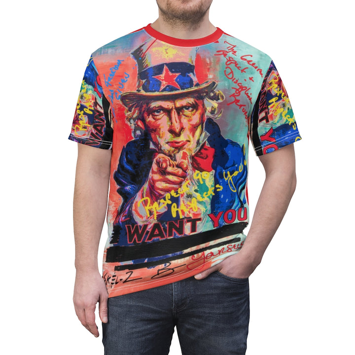 MaddonArt Uncle Sam Unisex Tee
