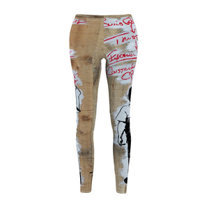 Maddon Banksy Women's Casual Leggings