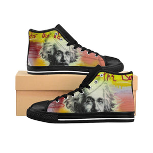 Einstein - Men's High-top Sneakers