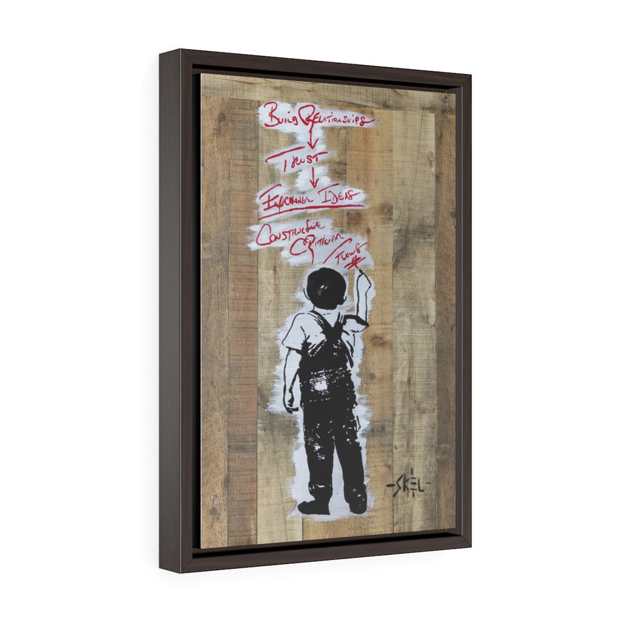 Relationship - Framed Gallery Wrap Canvas