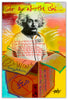 Image of Einstein - Metal Print