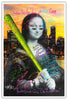 Image of Mona Lisa - Metallic Print