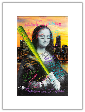Mona Lisa - Open Series Print