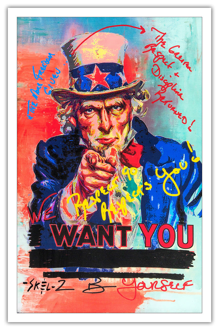 Uncle Sam - Poster Print