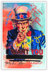 Image of Uncle Sam - Metallic Print