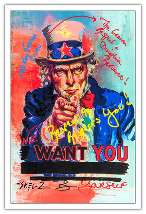Uncle Sam - Open Series Print