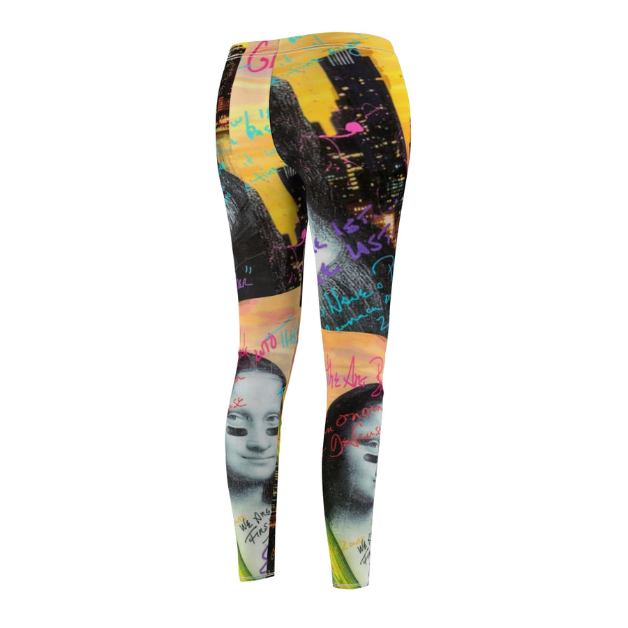 MaddonArt Mona Lisa Women's  Casual Leggings