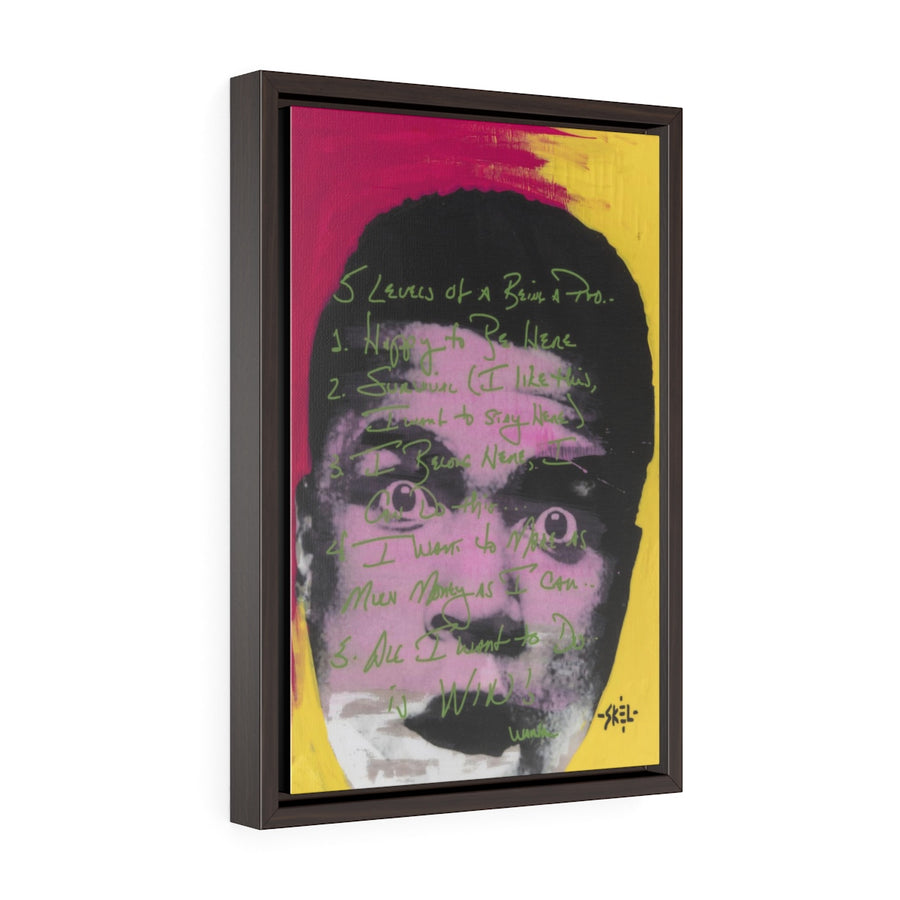 Ali - Framed Gallery Wrap Canvas