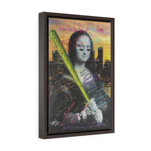 Mona Lisa - Framed Gallery Wrap Canvas