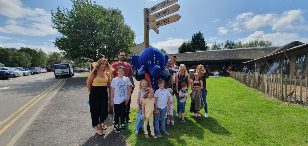 Oli's Charity Walk at Knowsley Safari Park 2021