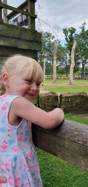 Oli's Charity Walk at Knowsley Safari Park
