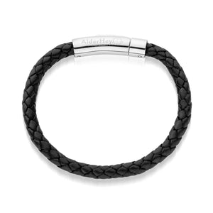 Woven Oli Elephant Leather Bracelet
