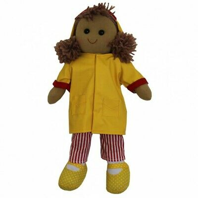 Yellow Raincoat Rag Doll