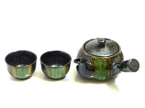 Green-Passage Tea Set