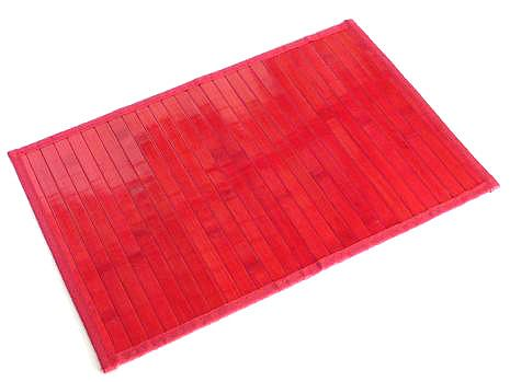 Amarance Red Bamboo Placemat