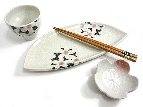 Cherry Blossom - Waka Single Sushi Set