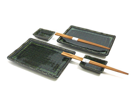 Bamboo Forest Green Sushi Set