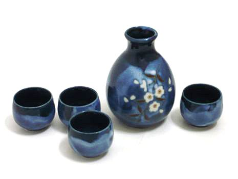Indigo Dream Sake Set