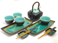 Ocean Breeze Sushi and Tea Set