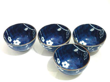 Peacock Blossoms Sushi Bowl Set