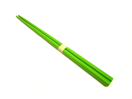 Solid Green Chopsticks