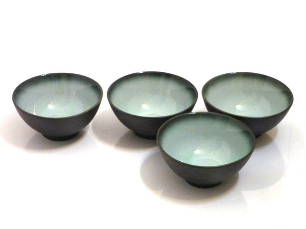4 pc Satin Jade Bowl Set