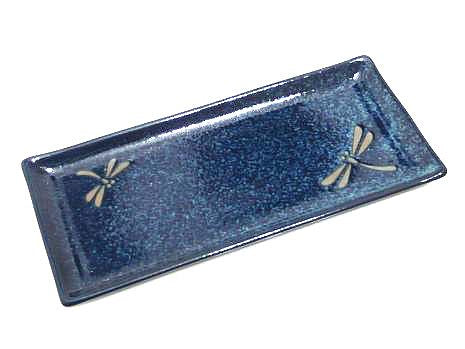 Sapphire Dragonfly Serving Plate