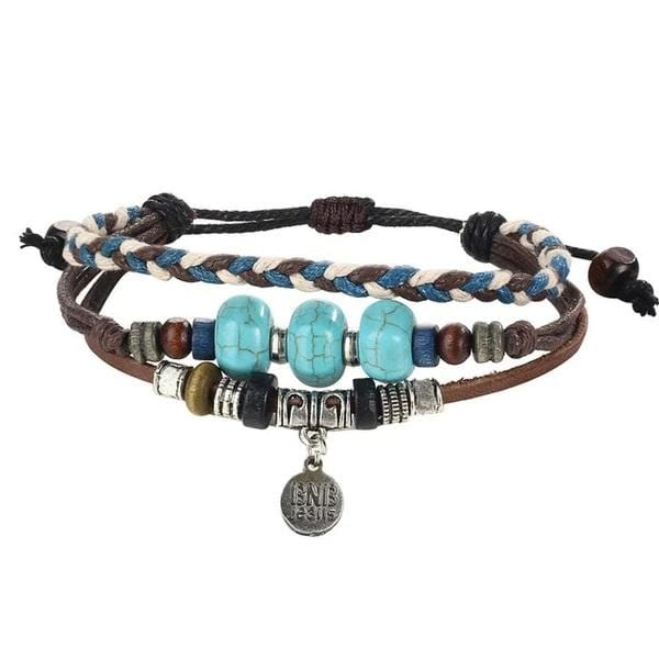 Dalia's Multilayer Stone Bracelet