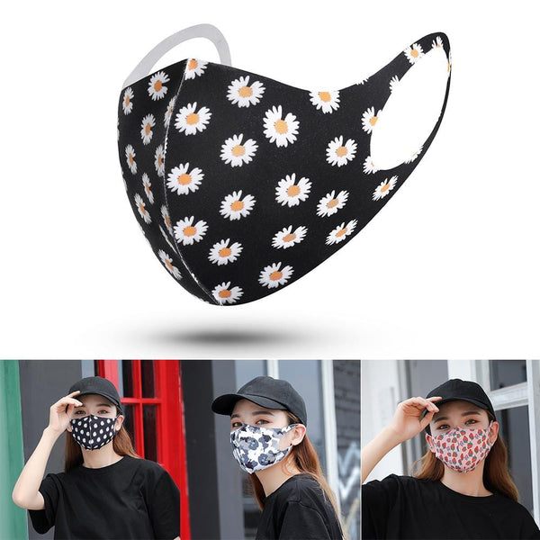 1PCS FASHION SPONGY MOUTH MASKS