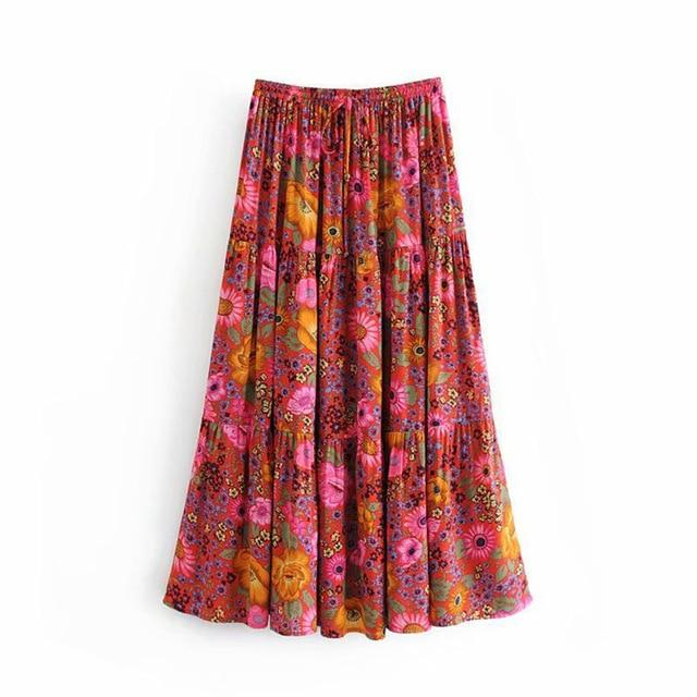 Kate's Casual Bohemia Skirt